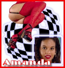 Amanda. . .An exquisite ebony angel.