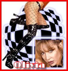 Oliva. . .Subbies beware!  This is one tough dominatrix, humiliatrix.