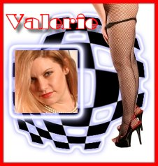 Valerie. . .A plump and passionate lady.